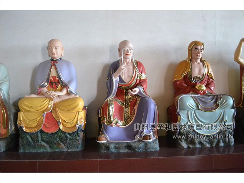 山西朔州-鸿福寺-玻璃钢雕塑-工程-1016