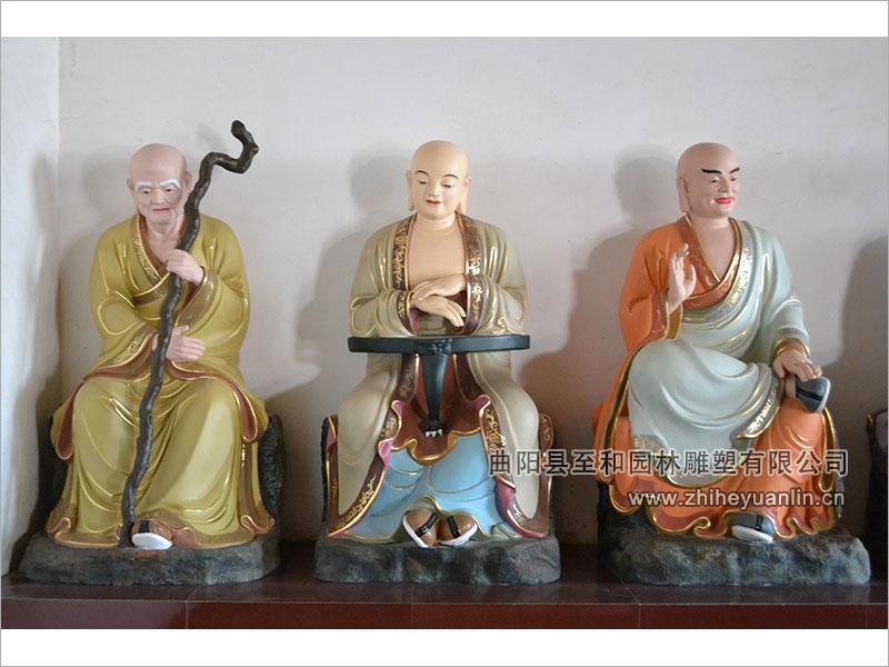 山西朔州-鸿福寺-玻璃钢雕塑-工程-1017
