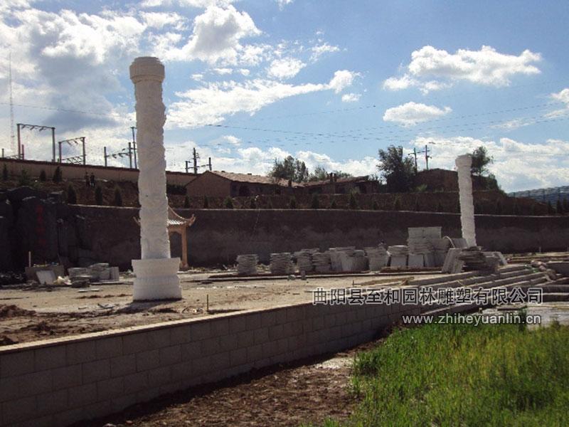 山西朔州-西易集团-石雕文化柱-工程1002