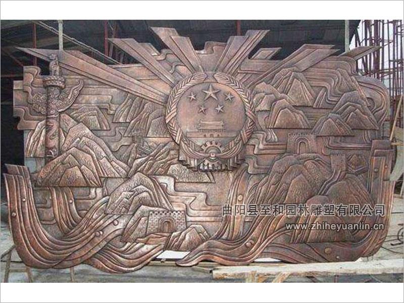銅鼎浮雕-TFD-1001