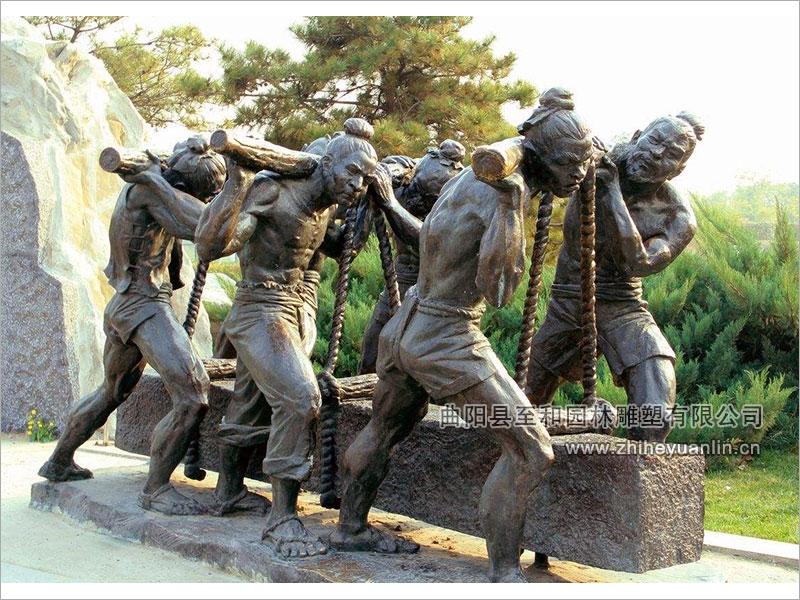 銅雕人物-TRW-1001