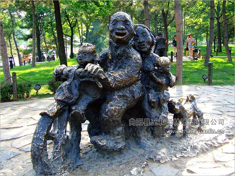 铜雕人物-TRW-1002