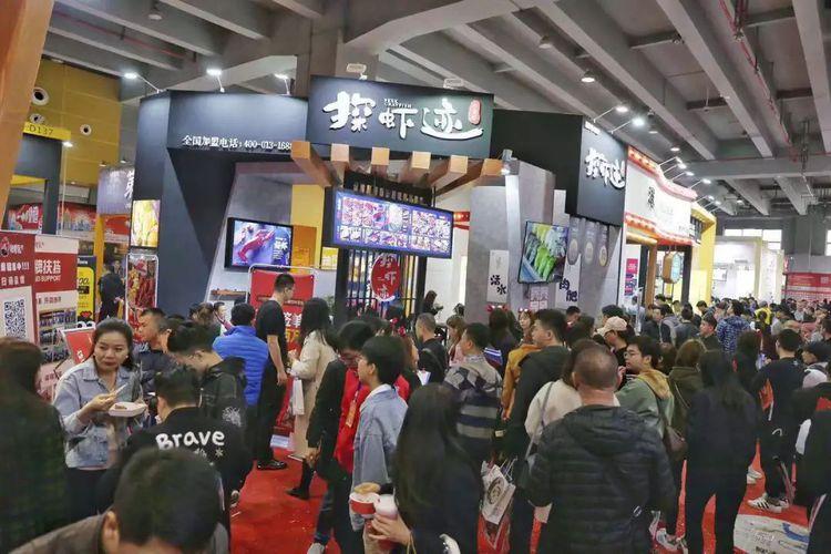2019广州餐饮加盟展-广州餐饮加盟展览会-探虾迹1