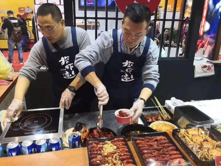 2019广州餐饮加盟展-广州餐饮加盟展览会-探虾迹2