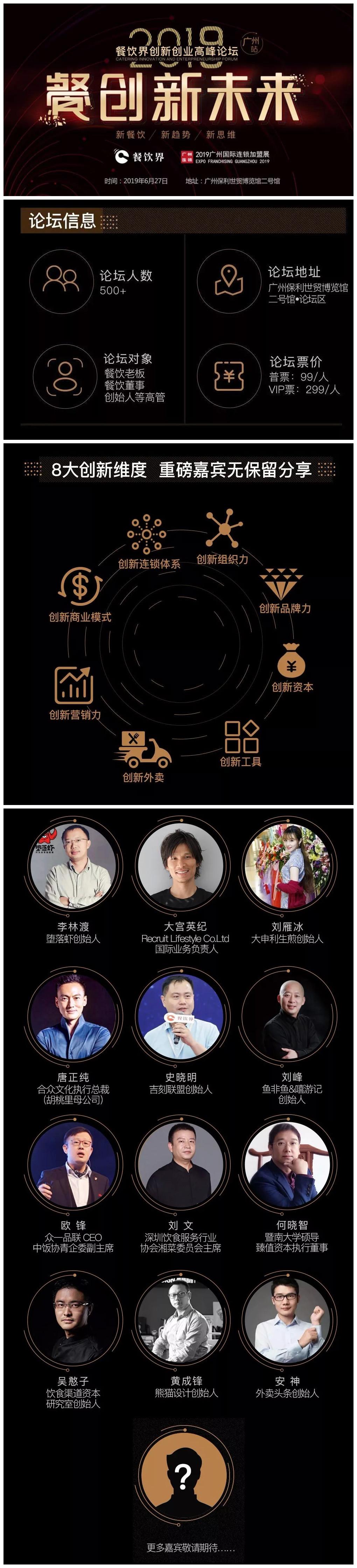 广州餐饮加盟展-2019餐创新未来