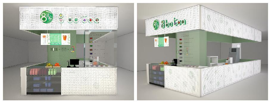 2019广州餐饮加盟展-广州餐饮加盟展览会-8botea的门店形象