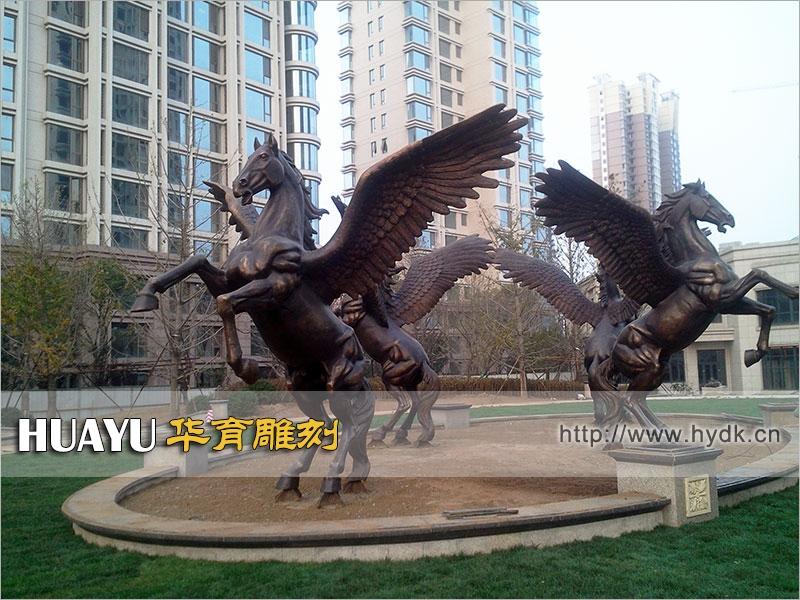 铜雕-飞马-工程-TGC-1001