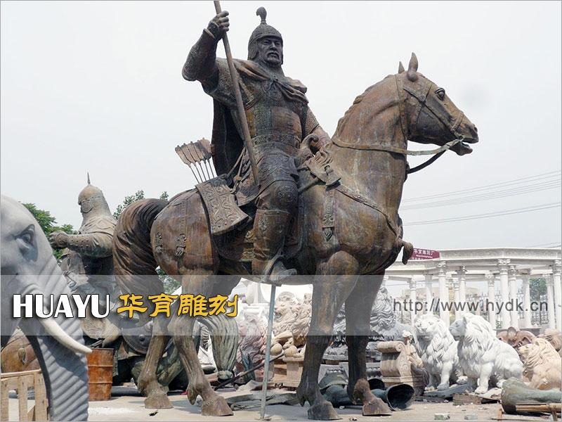 铜雕人物-哈萨克斯坦政府工程-TGC-1003