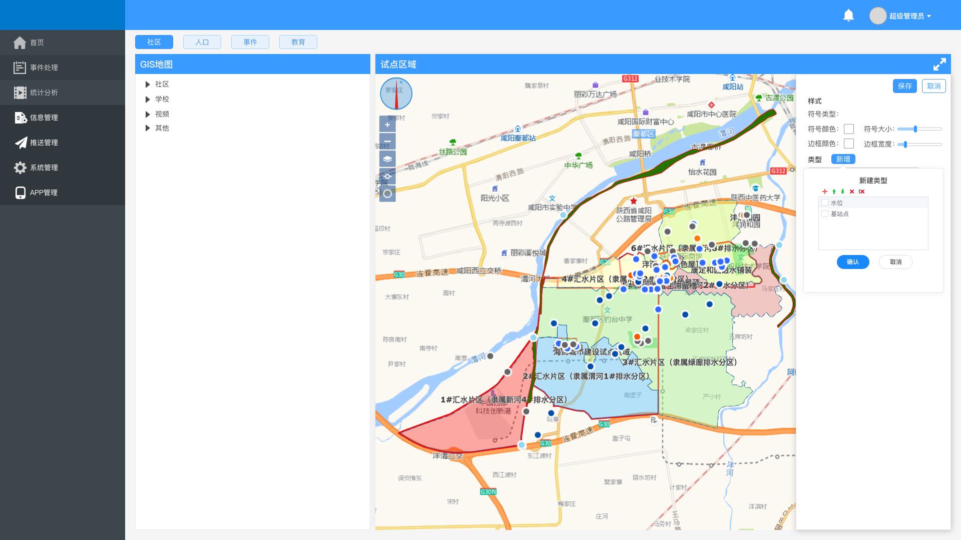 GIS管理-add