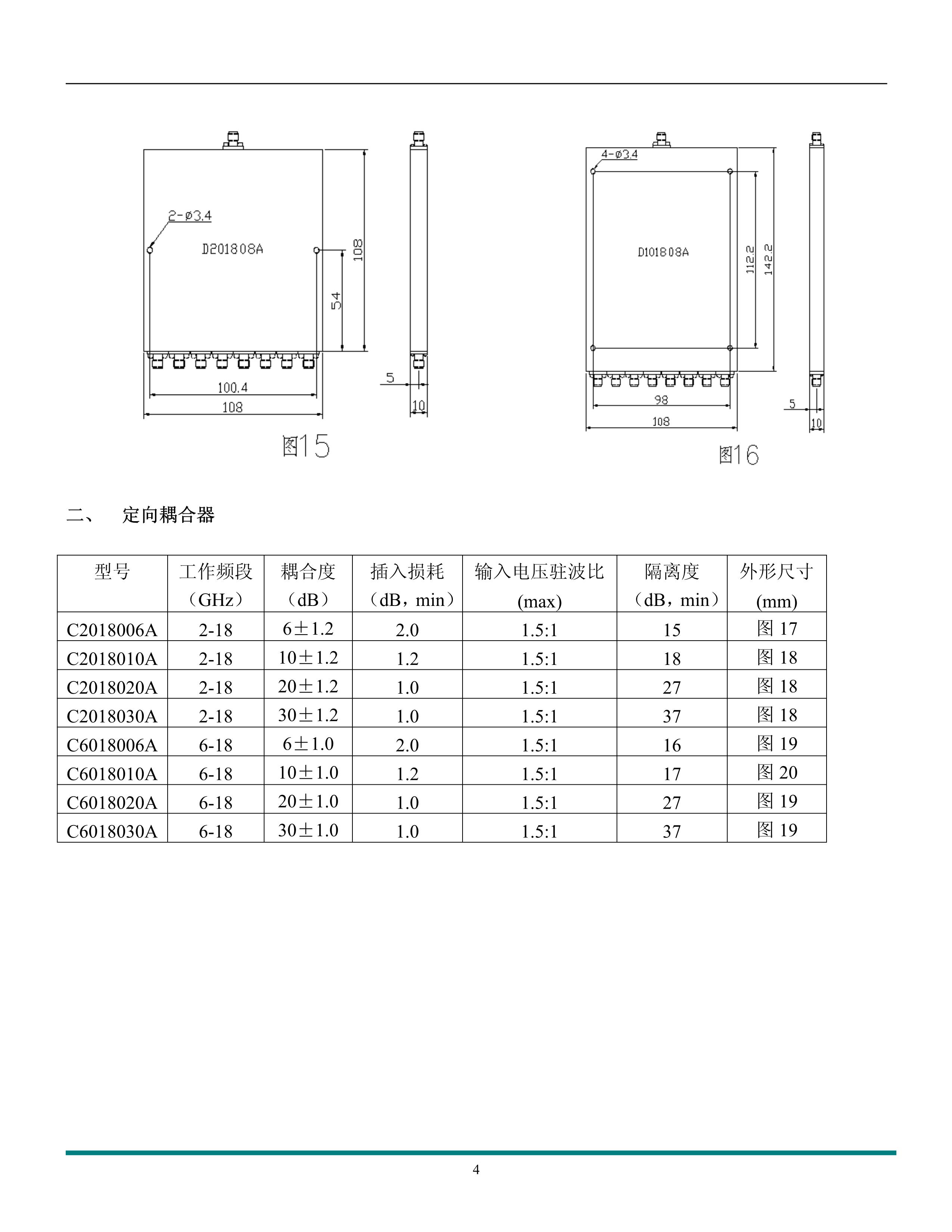 微波元器件產品手冊_4
