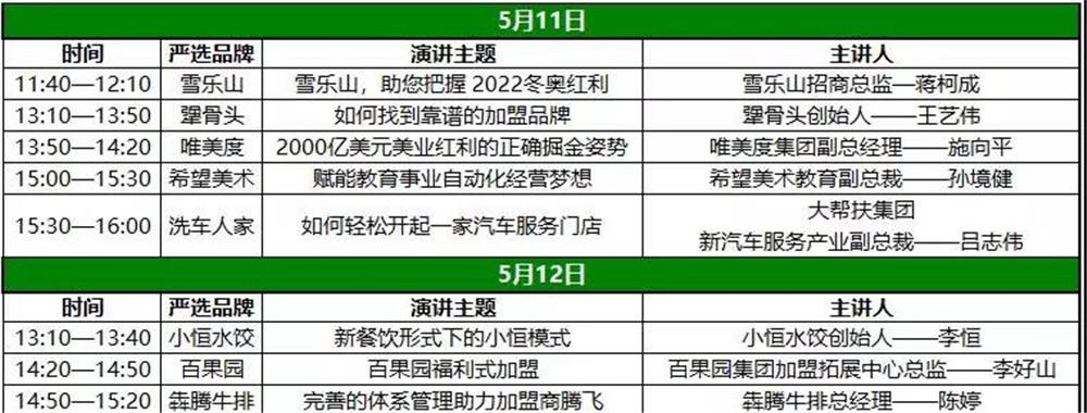北京特许加盟展-中国特许加盟展北京站4