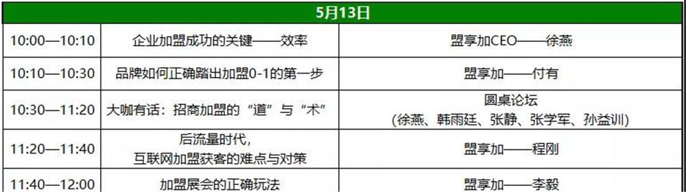 北京特许加盟展-中国特许加盟展北京站6