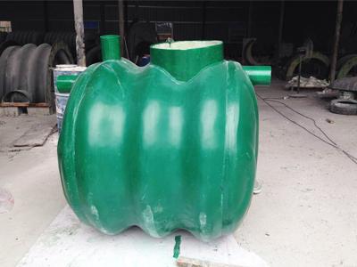 玻璃鋼三格化糞池1