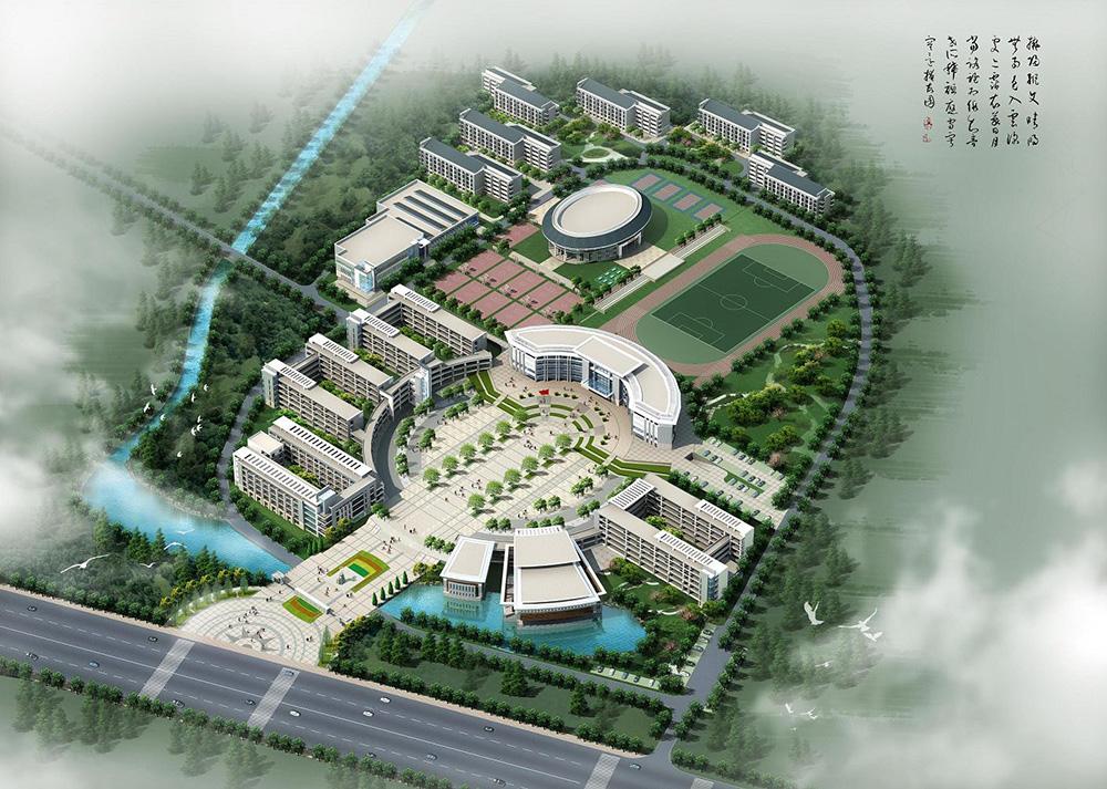 宣城中学新校区1--6-学生公寓工程4