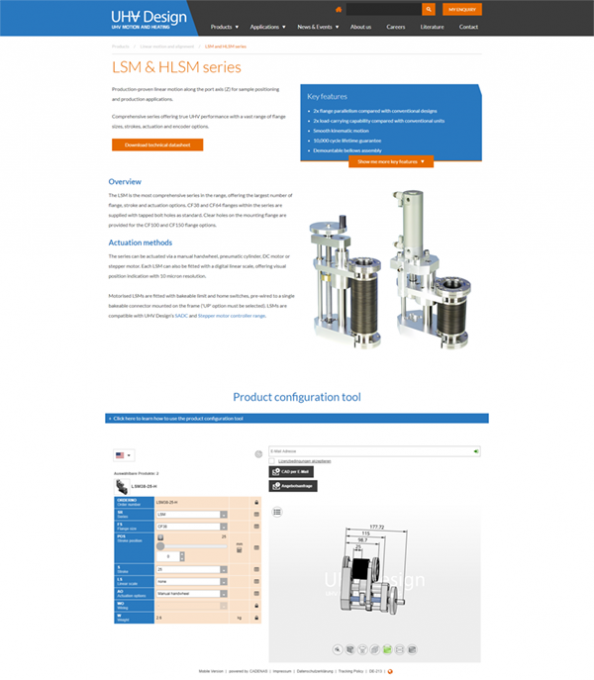 uhv_design-webseite