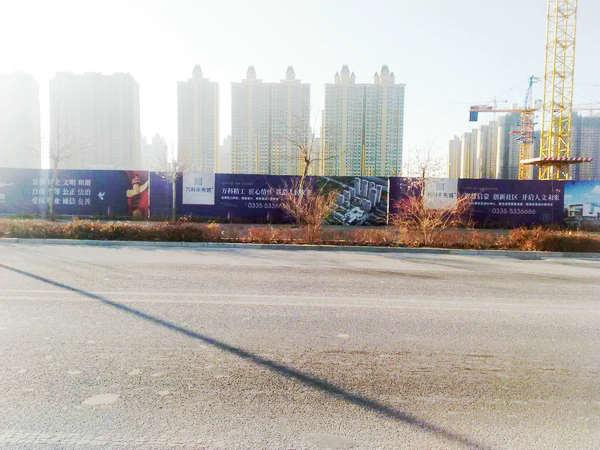 秦皇島圍擋廣告制作案例