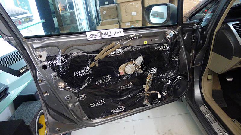 本田思域八代快速改惠威c1600音响大白鲨汽车隔音套件