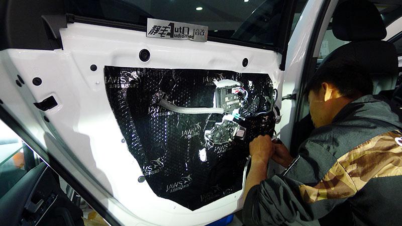 奥迪A4音响改装S3诗芬尼BO6DSP
