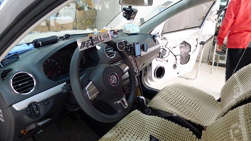 昆明大众汽车音响改装惠威C2000