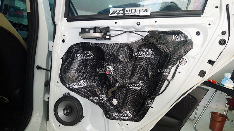 昆明汽车音响改装JBL音响喇叭