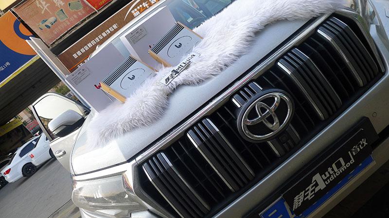 汽车音响改装普拉多迪拜版JBL音响