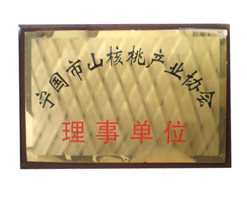 寧國市山核桃產品協會理事