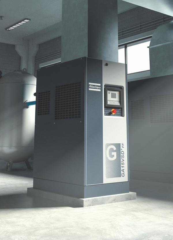 GA-VSD-噴油螺桿式壓縮機