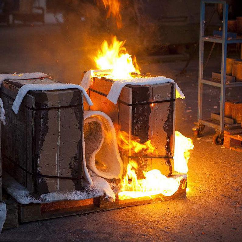 空壓機著火