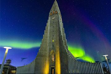 2月21日冰岛极光2
