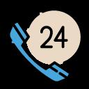 24h電話服務