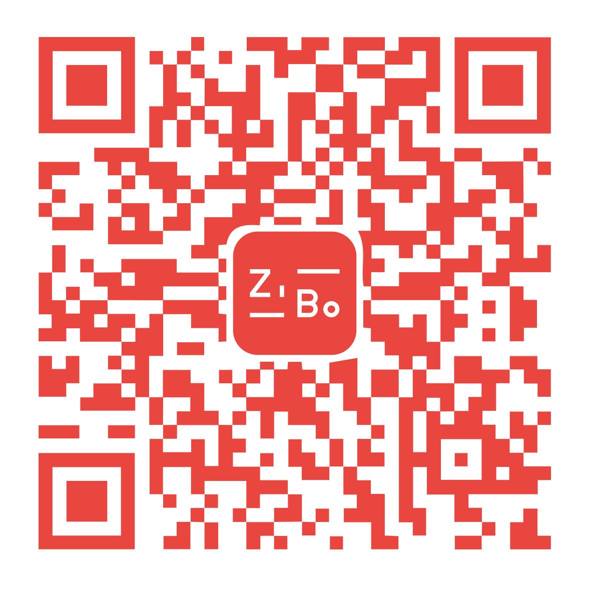 子博設計微信二維碼葉曉萌紅