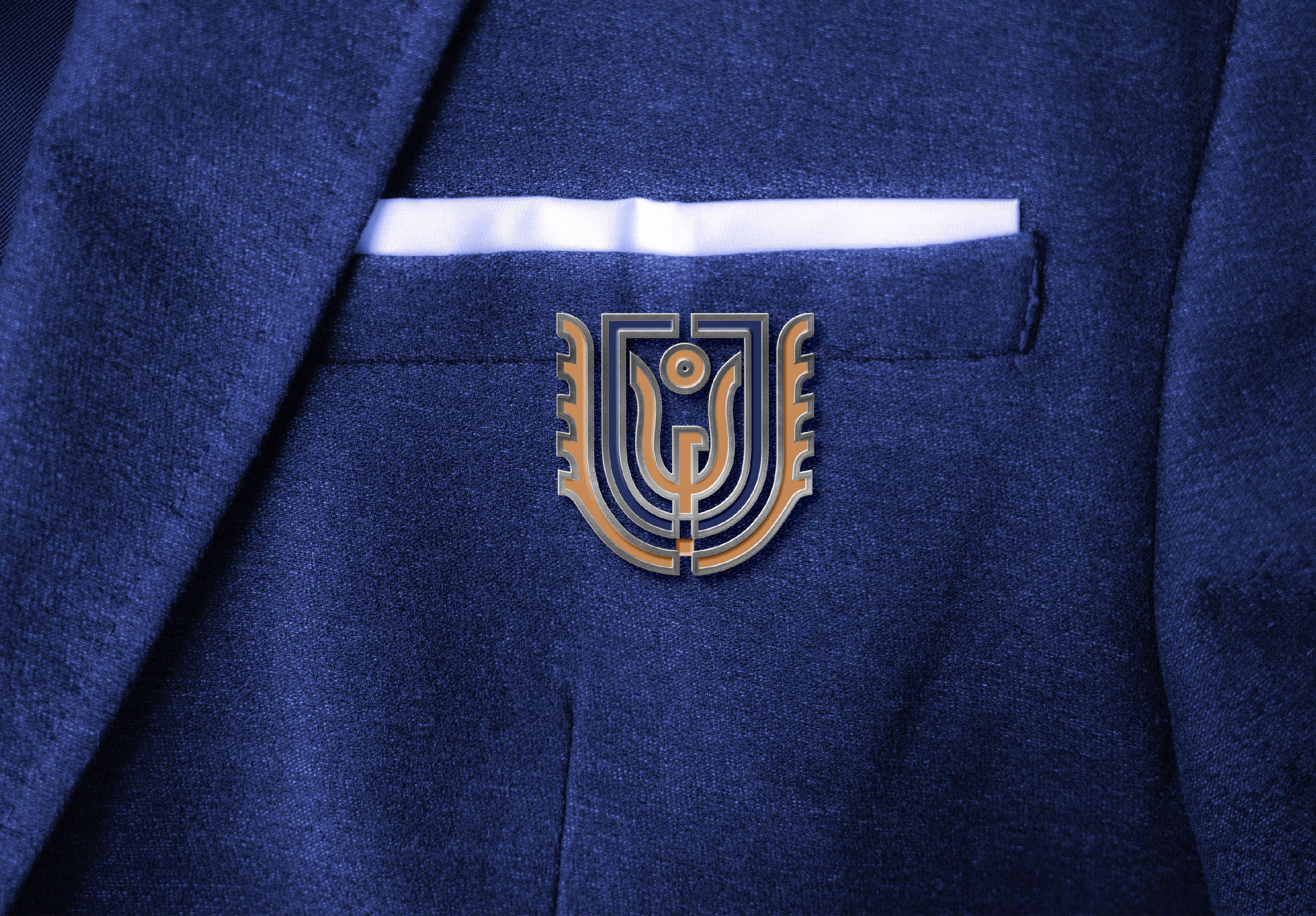 卓爾大方徽章