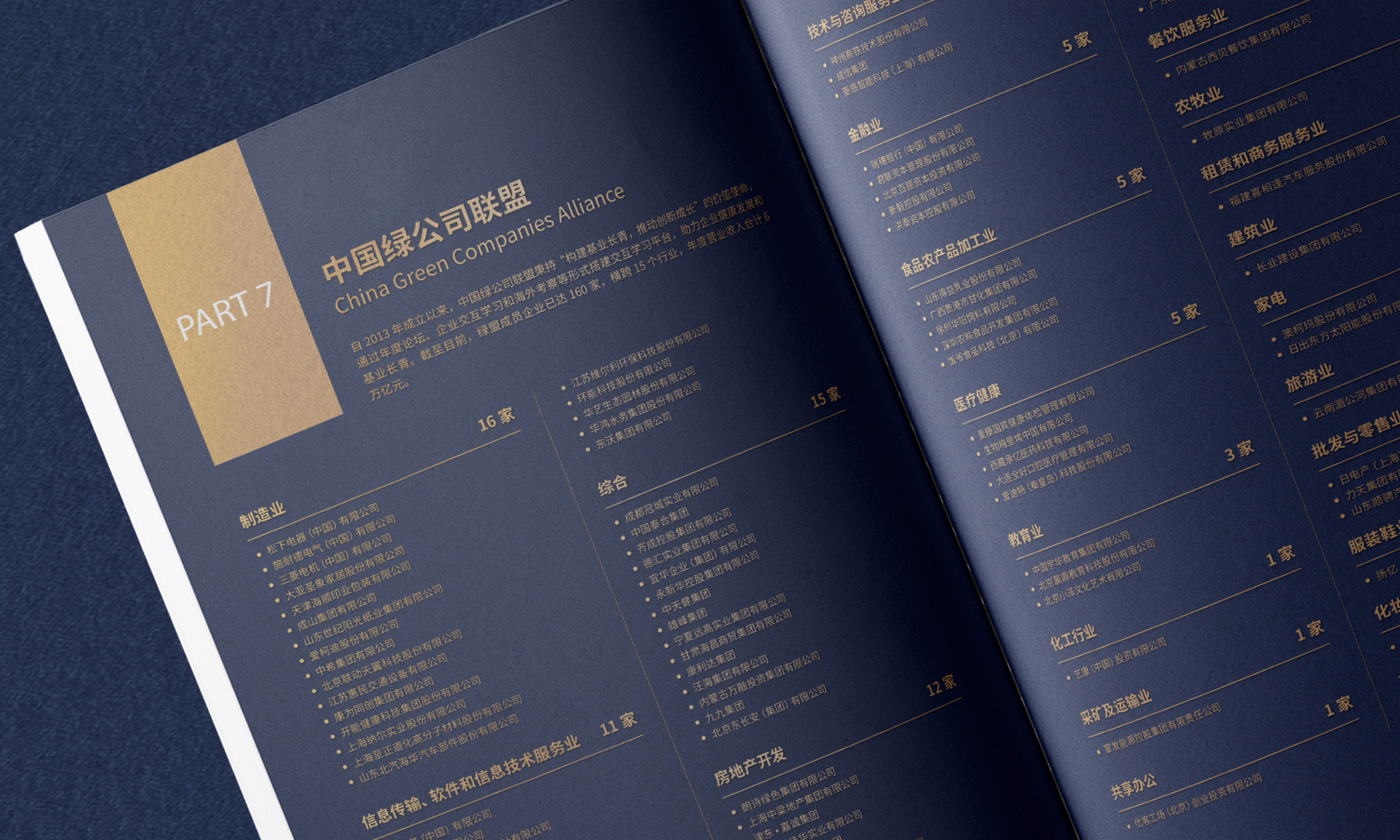 中國企業家聯盟俱樂部畫冊設計