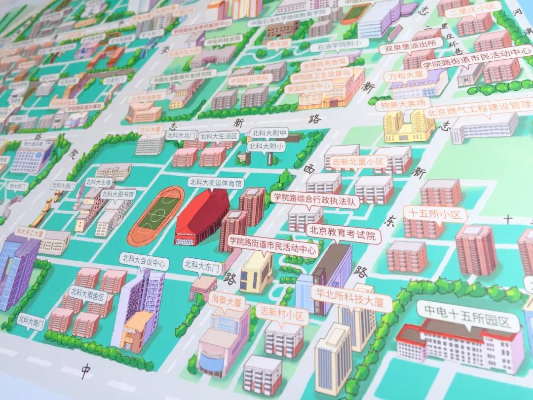 學院路街道細節