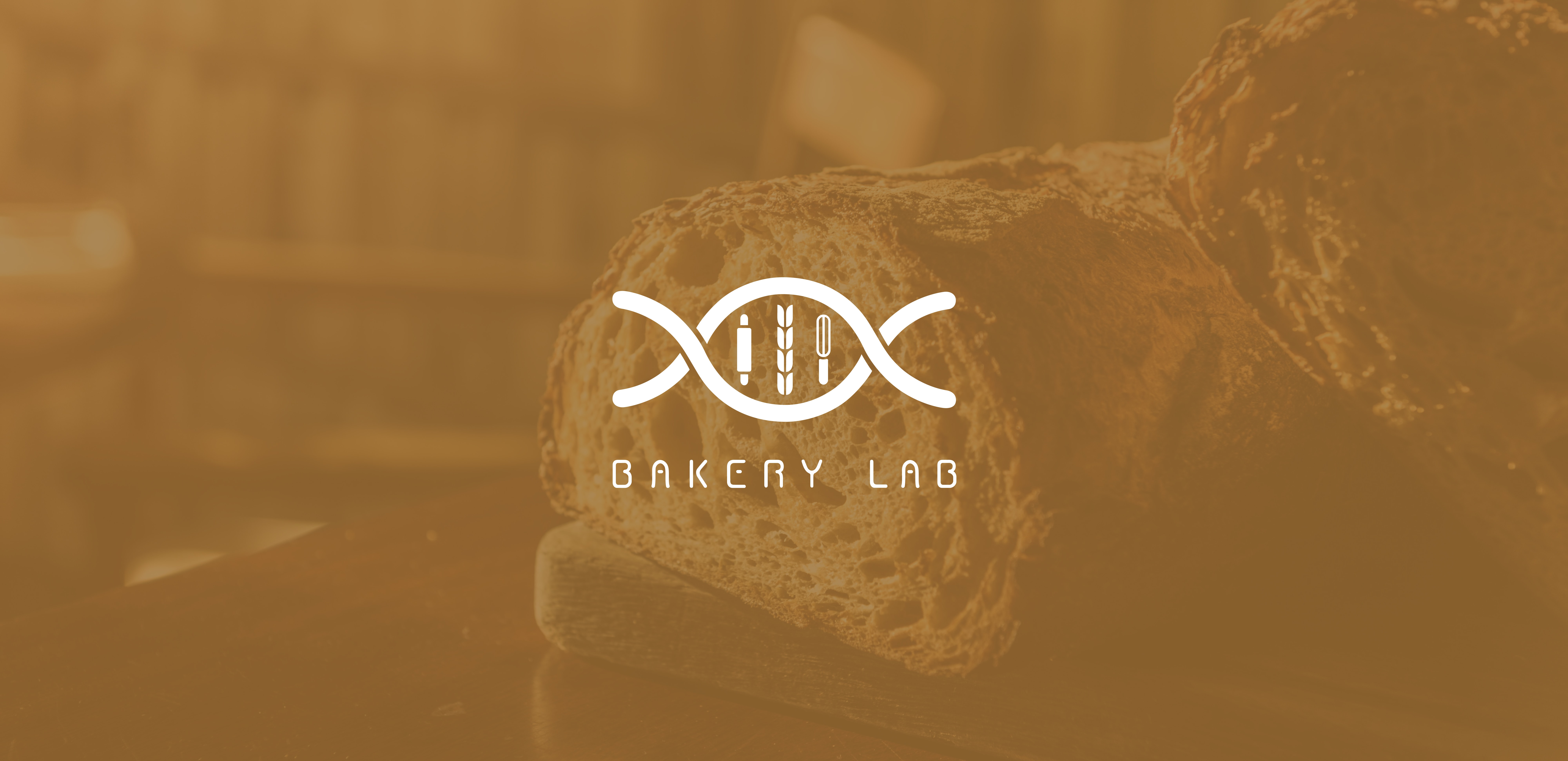 bakery lab logo设计