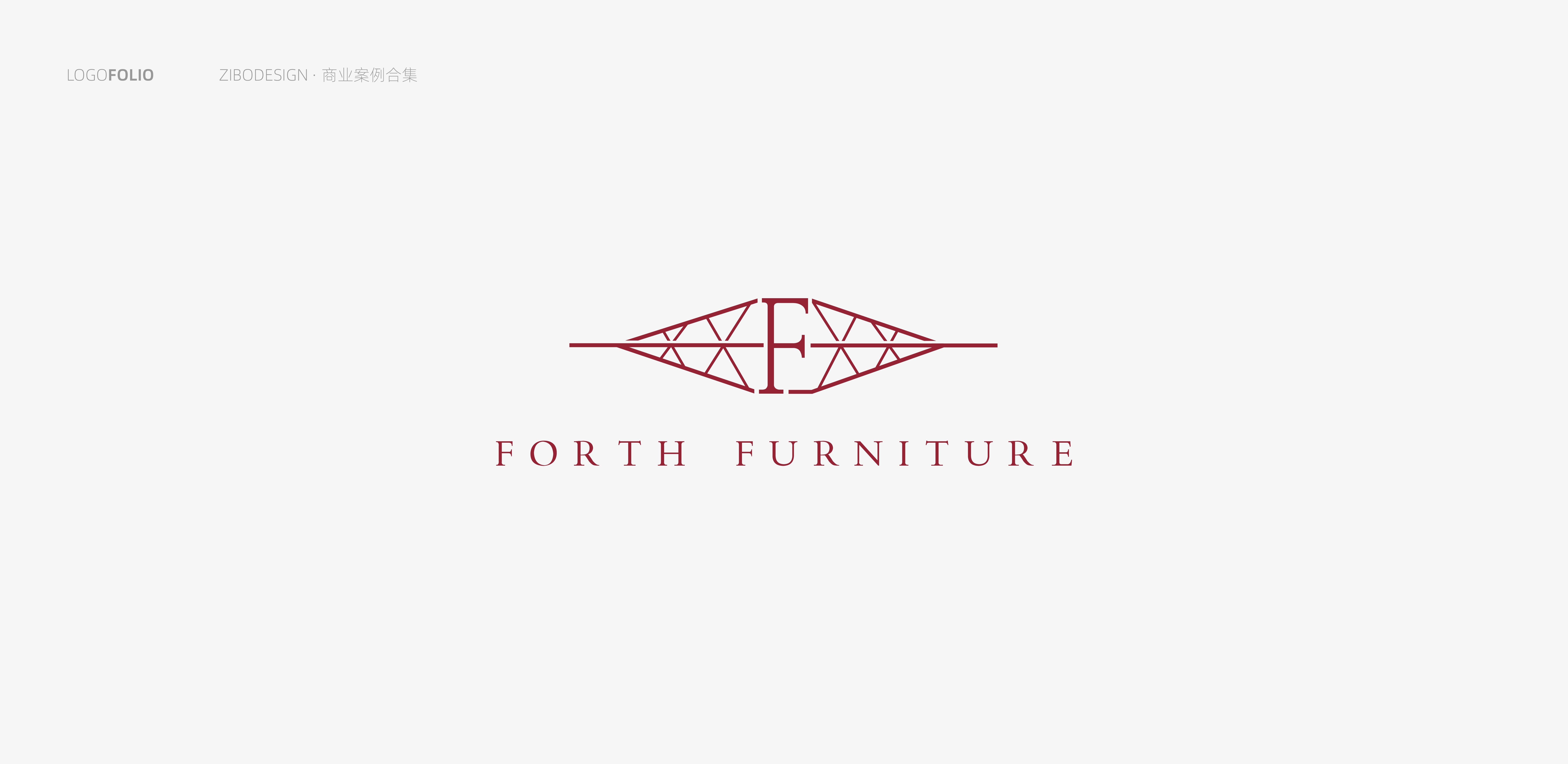 forth furniture logo设计