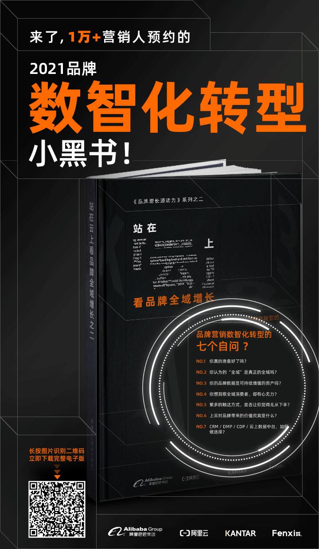 阿里巴巴數智化營銷小黑書