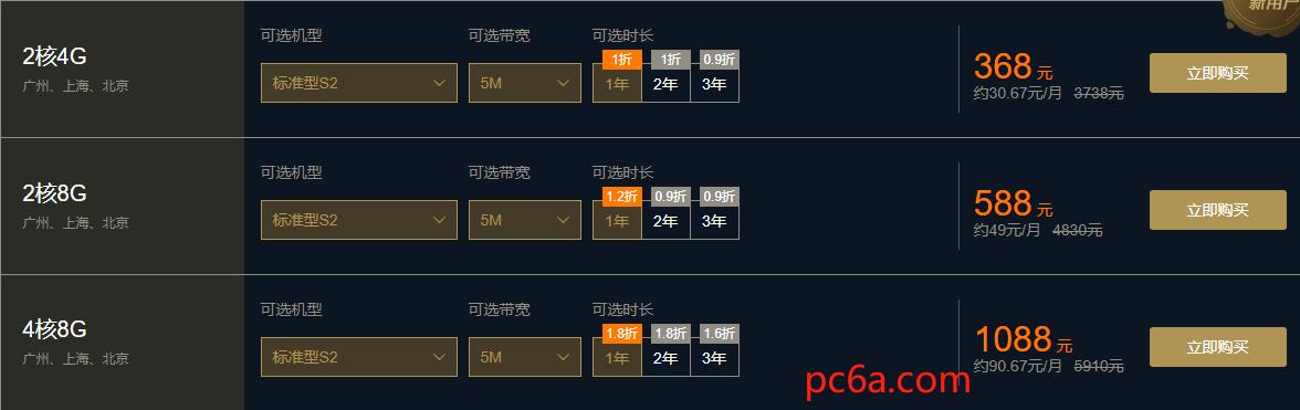 腾讯云11.11促销活动