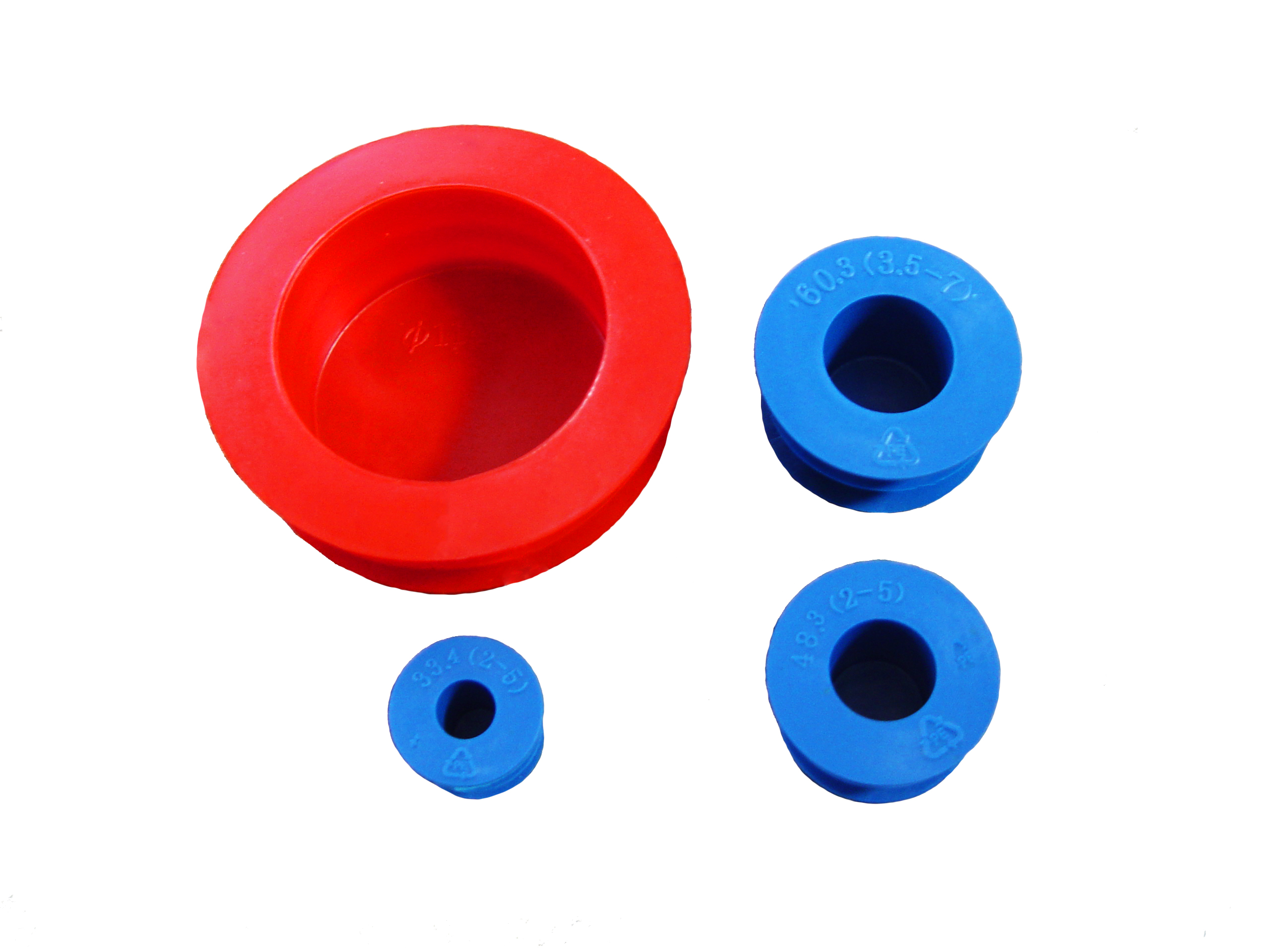 Home plastic pipe protectors flange