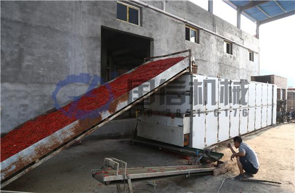 18米6層 燃氣烘干 自動溫控