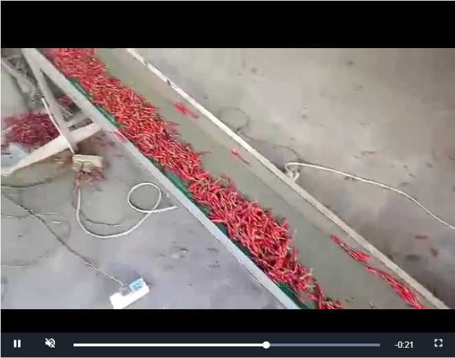 貴州辣椒專用烘干機視頻案例
