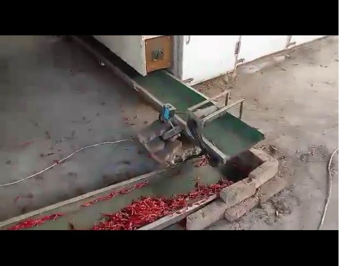 山東辣椒烘干機案例視頻