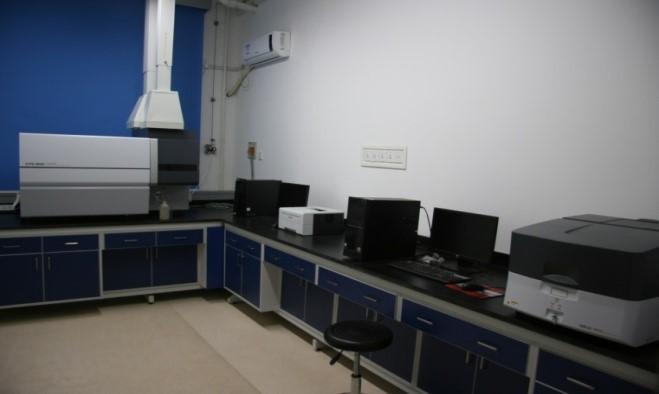 光譜分析室照片