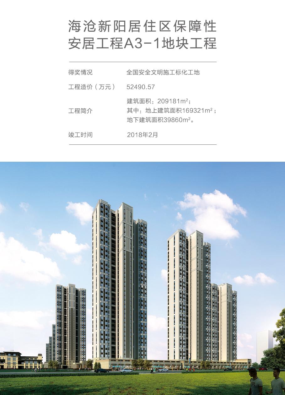 海沧新阳居住区保障性安居工程a3-1地块