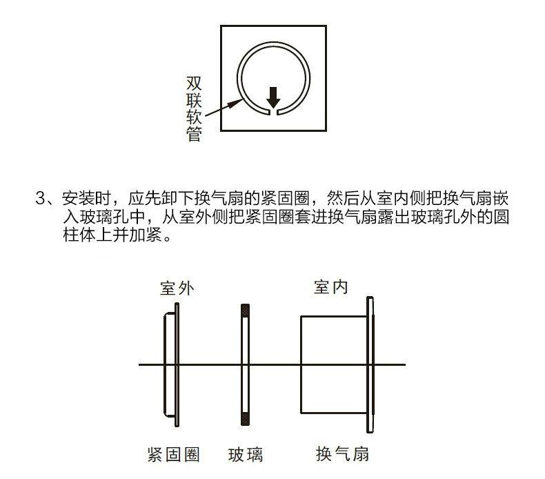 绿岛风橱窗浴室式换气扇-14
