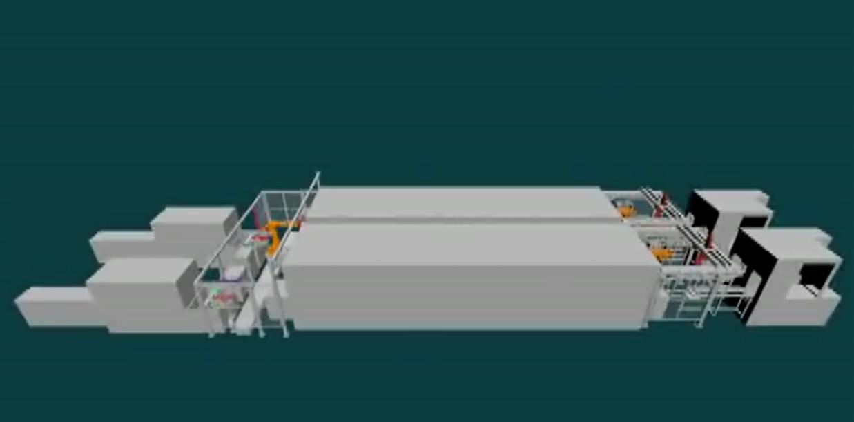 插片--清洗--分选自动化连线