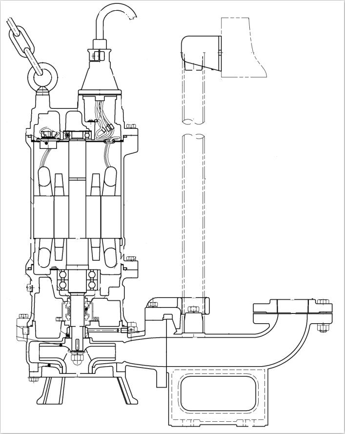 鹤见潜水排污泵