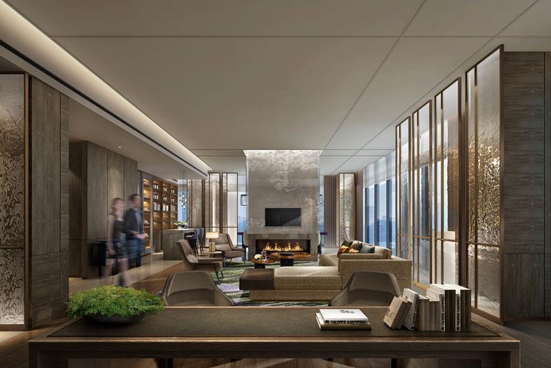 10豪華套房客廳