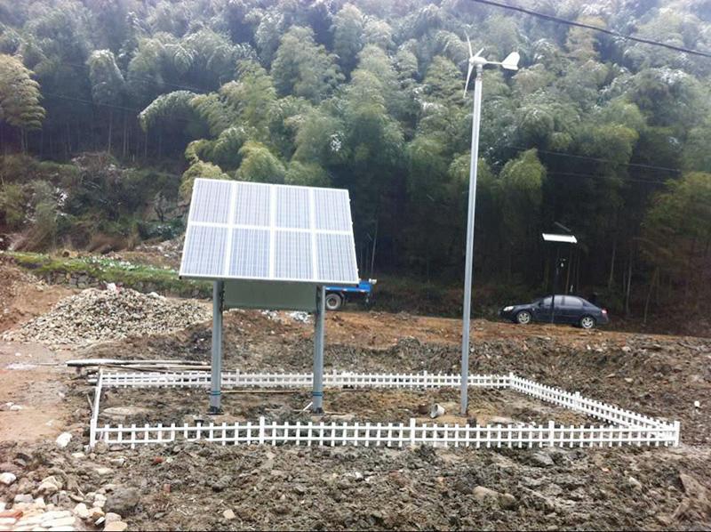 風光互補微動力污水處理工程
