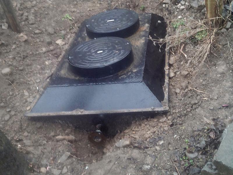分散式污水處理碳鋼一體機
